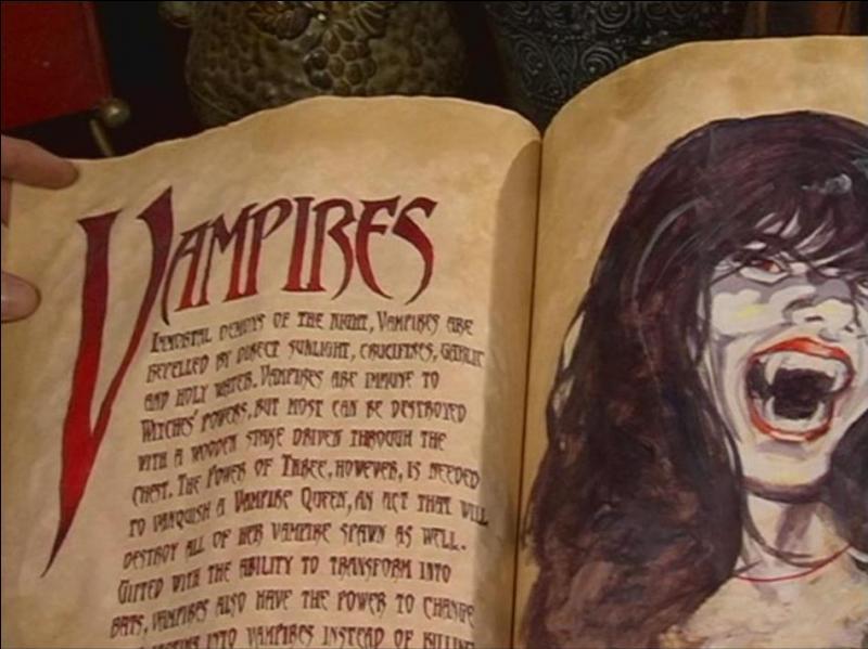 Quelle sœur ne s'est jamais battue contre les vampires ?