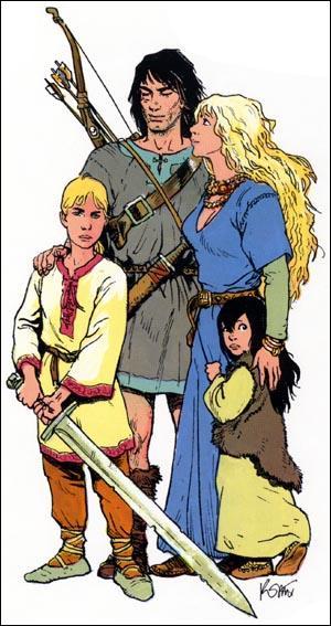 Thorgal et sa famille sa femme s'appelle...