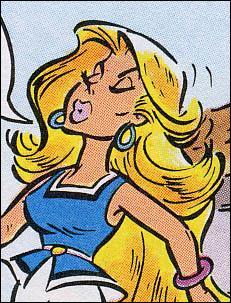 Une autre blonde gauloise :