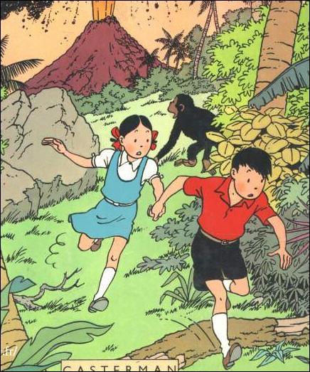 Un des personnages dessinés par Hergé :