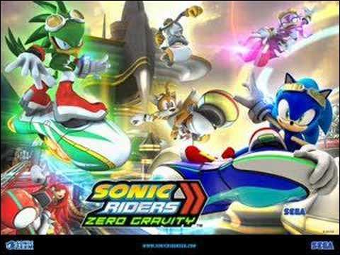 Quel est le nom du thème de Sonic Riders : Zéro Gravity ?