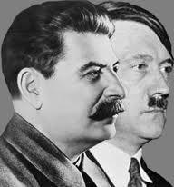 Régime totalitaire de Staline et Hitler