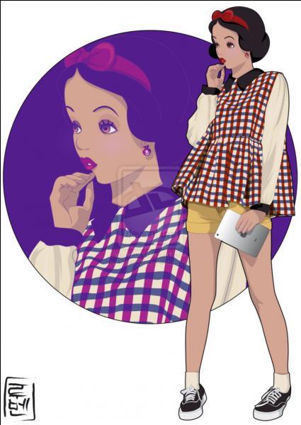 En passant de Disney à la fac, cette princesse a troqué sa pomme pour un ipad. Qui est-elle ?