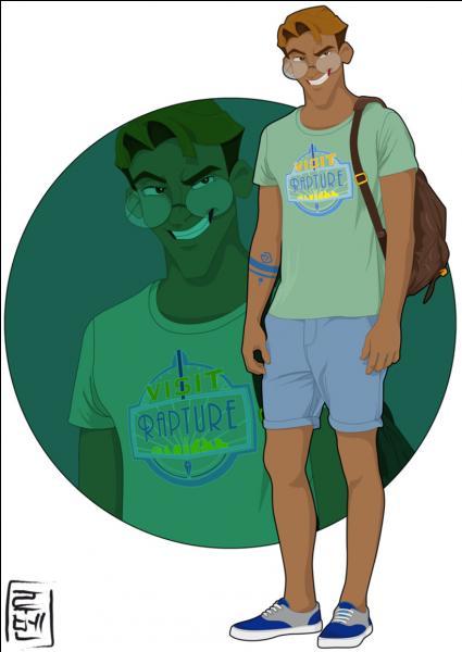 Toujours à la recherche de nouvelles aventures, il a décidé de s'attaquer aux études. Avec son look décontracté et son sourire ravageur, il joue le charmeur. Qui est-il ?
