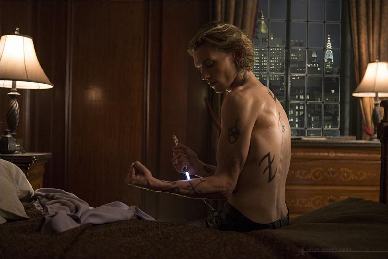 Comment s'appellent les tatouages que les chasseurs ont dessinés sur leurs corps ?