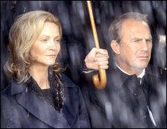Kevin Costner, d'origine cherokee, irlandaise et allemande, a tourné un film excellent avec pour partenaire Joan Allen, qui picole au milieu de ses quatre superbes filles. Quel en est le titre ?