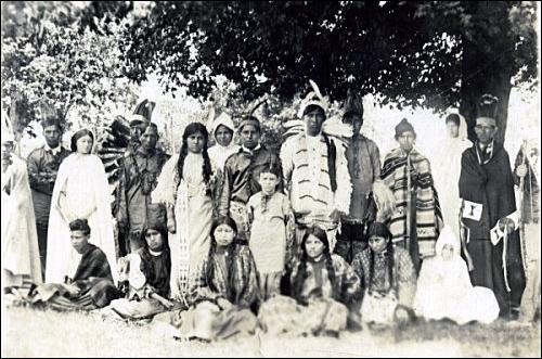 De quel ensemble faisaient partie les Cherokee d'après les blancs ?