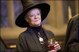 McGonagall est la directrice de :