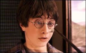 Qui pointe sa baguette sur Harry ?