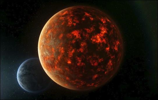 Dans  La prophétie de Noël , quelle planète apparaît dans le ciel, menaçant de s'écraser sur la Terre ?