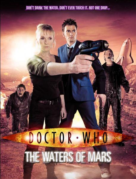 Dans l'épisode  Waters of Mars  ( La conquête de Mars ), qui dirige l'équipage de Bowie One ?