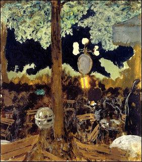 Qui a peint Café du bois de Boulogne la nuit ?