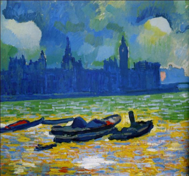 Qui a peint Le parlement de Londres la nuit ?