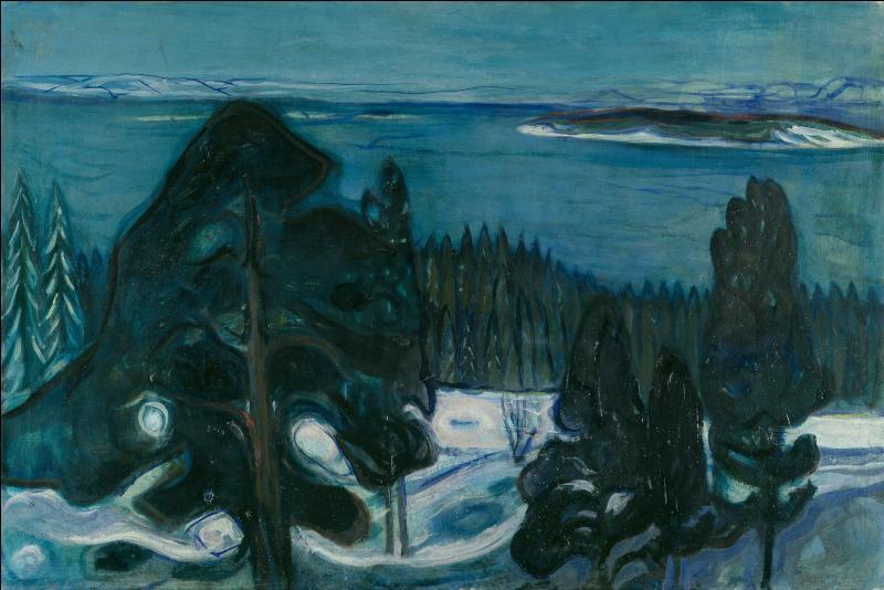 Qui a peint Nuit d'hiver ?