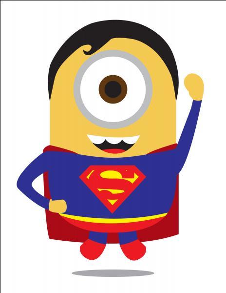 Et enfin, c'est un super héros, c'est :