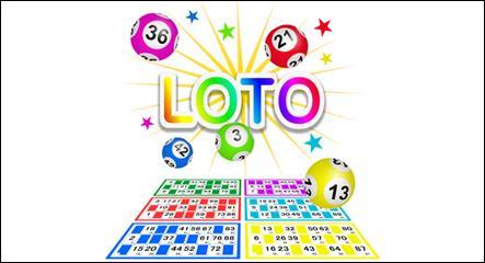 Il joue au loto...