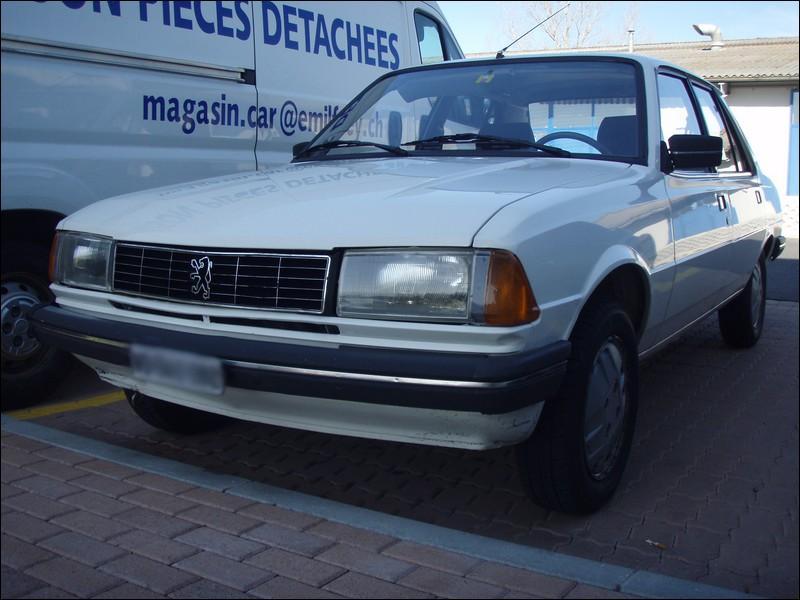 Et cette Peugeot est une...