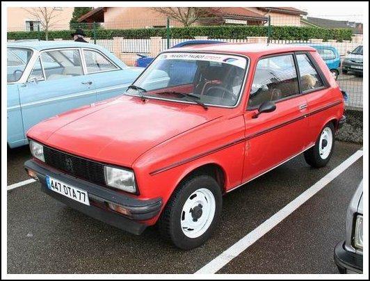 Et cette petite Peugeot c'est une...