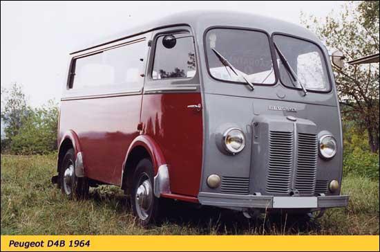 Cet utilitaire Peugeot de l'année 1964, c'est un...