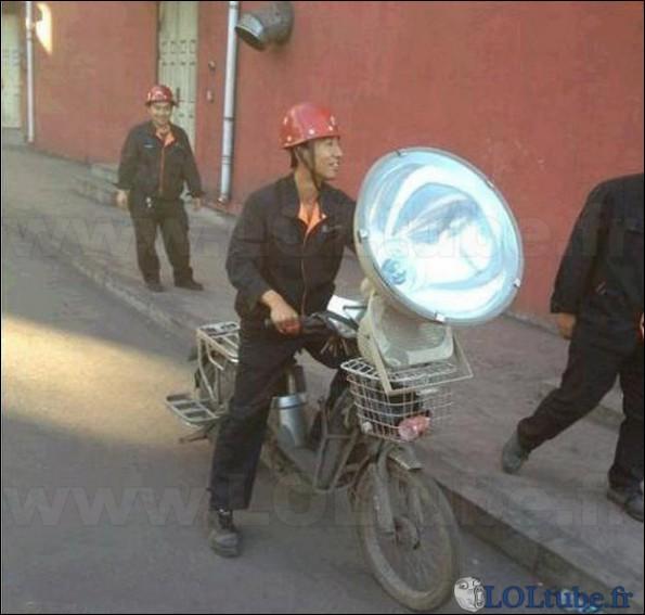 Plein phare ! Les phares sont obligatoires sur une voiture en France :