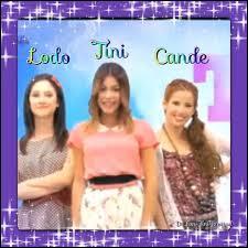 Les meilleures amies de Violetta sont Camila et Francesca