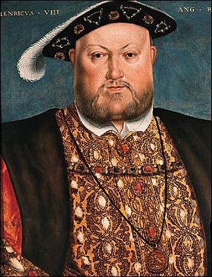 Henri VIII était le monarque de quel pays ?