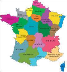 Combien y a-t-il de régions en France métropolitaine ?