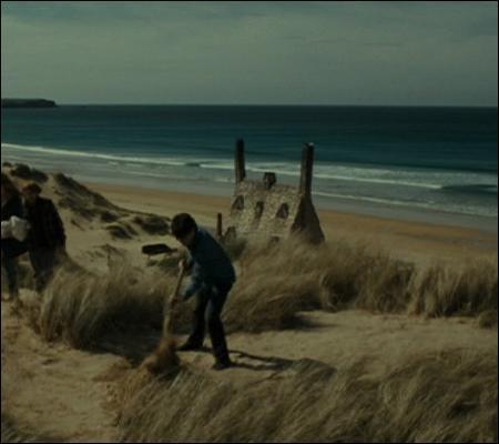Ça sent la fin des vacances... Le dernier soir, que fait Harry au coucher du soleil ?