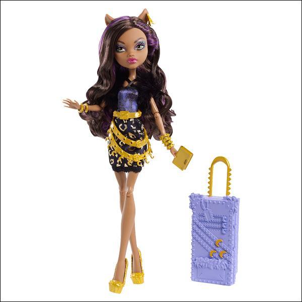Il n'a pas oublié Zoé avec cette poupée :