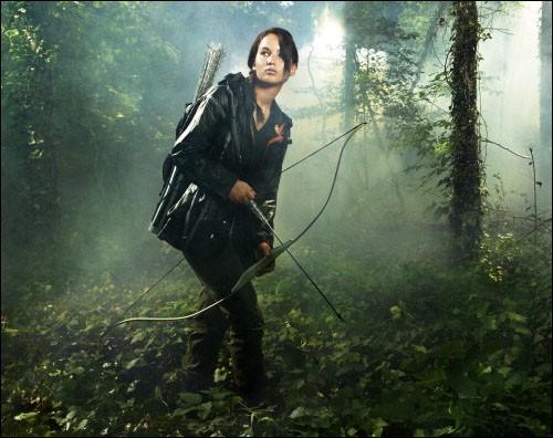 Durant les Jeux, Katniss est confrontée à de nombreuses difficultés. Quel problème est décrit dans le livre mais pas dans le film ?