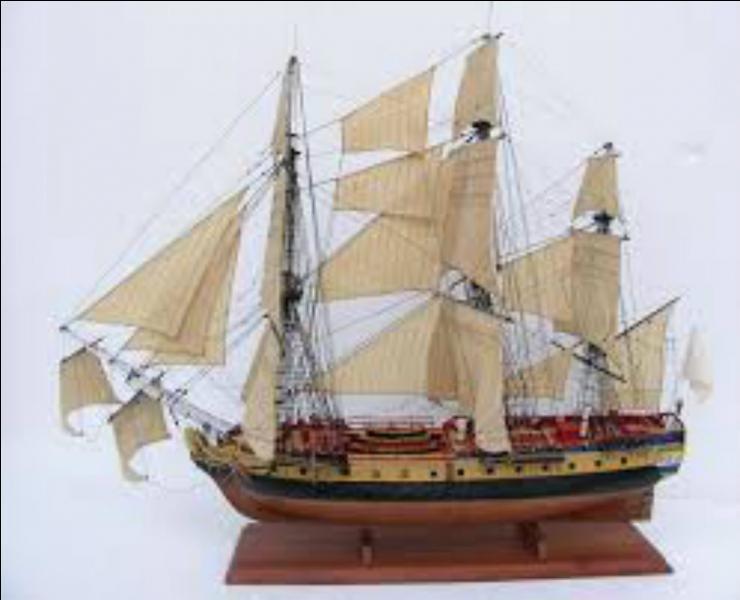 Quel nom portait la frégate qui permit à La Fayette de rejoindre l'Amérique en 1780 ?