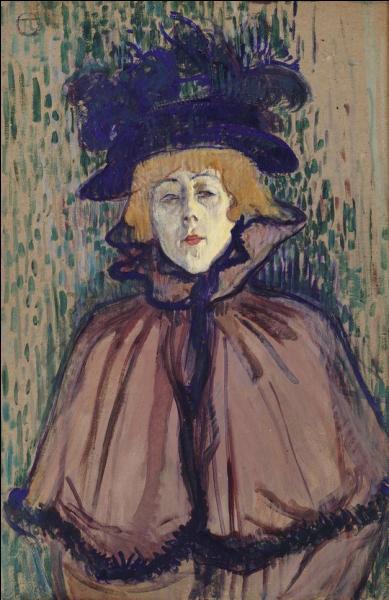 Quel est le titre de ce tableau peint en 1892 par Toulouse-Lautrec ?