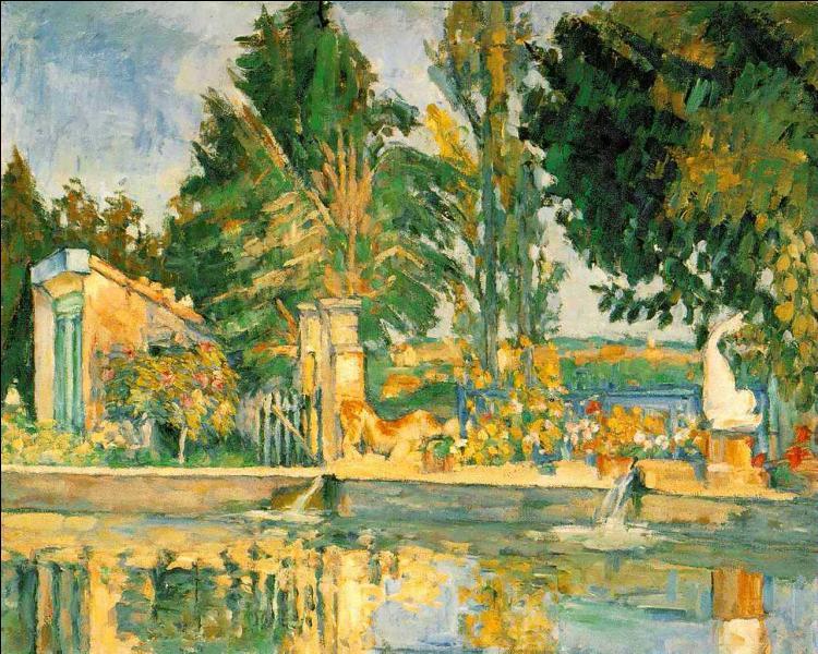 Qui a peint L'étang du Jas de Bouffan ?
