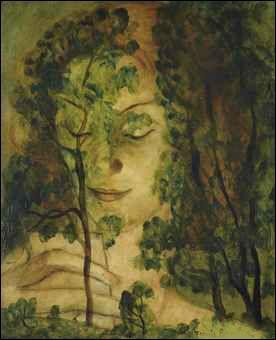 Qui a peint La femme aux arbres ?