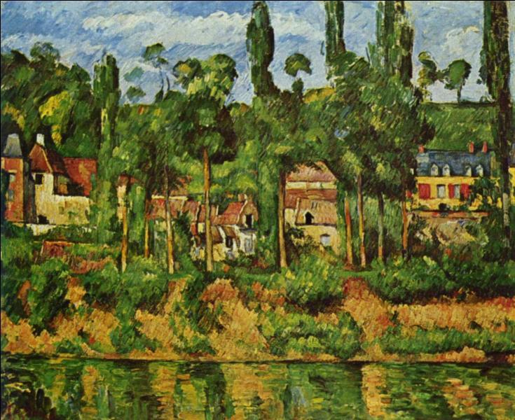 Qui a peint Château de Médan ?
