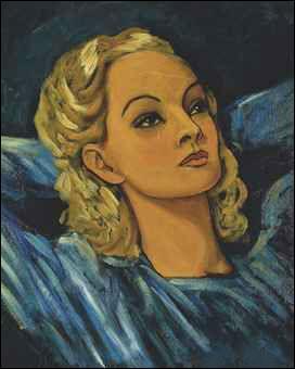 Qui a peint Portrait d'une blonde ?
