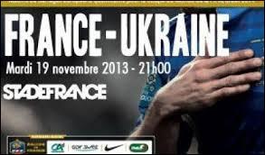 Quel est le score cumulé de France-Ukraine ?