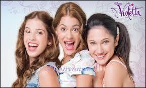 Qui sont les meilleures amies de Violetta ?