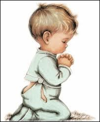 Voici enfin la prière qu'il paraît utile de faire pour terminer ce quiz dans l'espoir :