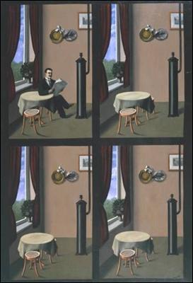 L'homme au journal.