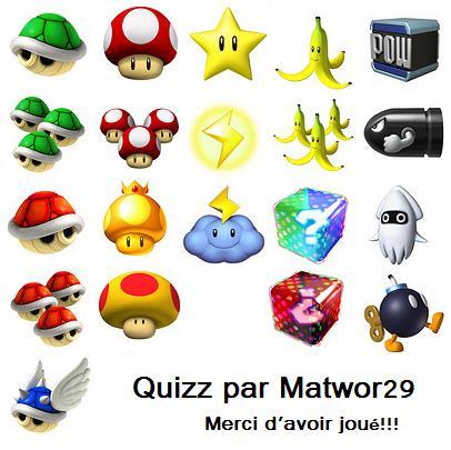 Mario Kart : Les bonus