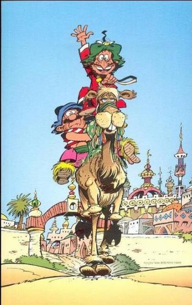 À qui devons-nous ce joli chameau errant dans les alentours de Bagdad la somptueuse ?