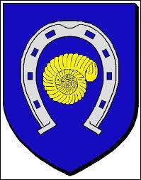 Voici le blason de la ville alsacienne de Fessenheim. Elle se situe dans le département n° ...