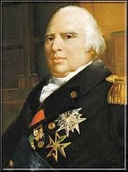 Comment s'appelle la période qui se situe entre les deux règnes de Louis XVIII ?