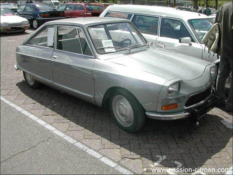 Et cette Citroën c'est quoi son nom ?