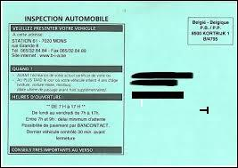 Compléter cette phrase :  En Belgique, le passage au centre de contrôle technique des voitures de plus de quatre ans est obligatoire …