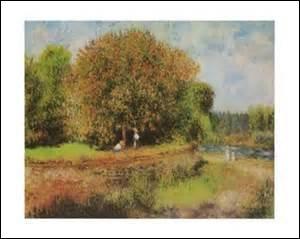 Je m'appelle Auguste Renoir, je nais à Limoges le 25 février 1841 et décède d'une congestion pulmonaire au domaine des Colettes (ma demeure) à Cagnes-sur-Mer (Alpes Maritimes) le 3 décembre 1919. Artiste-peintre impressionniste, je crée cette toile mesurant 71cm x 89cm en 1881 et qui est exposée au Alte Nationalegalerie à Berlin, mais quel est son nom ?