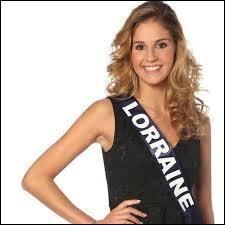 Miss Lorraine s'appelle... ... .
