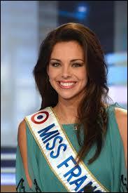 Quel est le vrai nom de miss France 2013 ?