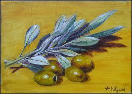 Et l'olive verte, elle est...